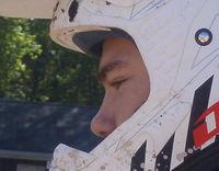 Tim, very pensive, prior to racing