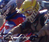 Richie shehorn totally focused at the start