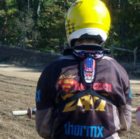 Richie before race