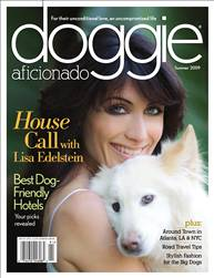 Smucci advertizes in doggie aficionado magazine